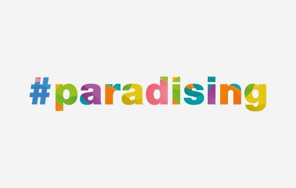 #paradising LOGO