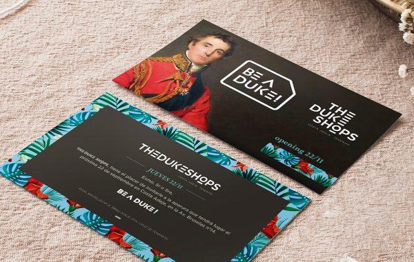 INVITACIÓN OPENING SOON - The Duke Shops